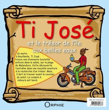 Ti José et le trésor de l'île aux belles eaux Français - Créole