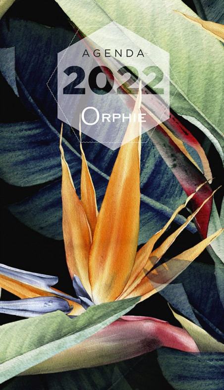 Petit agenda souple - Editions Orphie