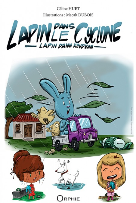 Lapin dans le cyclone - Editions Orphie